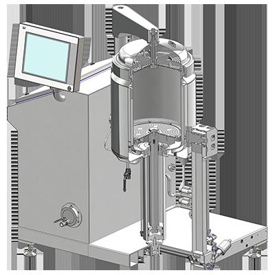 DM50 Extraktor Metszet